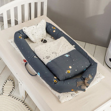 Infant Sleeping Crib Detachable Washable Baby Bed Nursery Basket Nursery Boy Girl Travel Folding Bed Toddler Cradle Carrycot Bed the pop up baby cradle sleeping basket small tent folding uv protection baby bed freeshipping