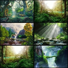 Diamond Painting Round New Arrival Scenery Mosaic Sale Scenic Embroidery Nature Rhinestones Pictures
