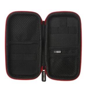 Image 4 - 2019 yeni X6s taşınabilir Vape çantası buhar aracı cep için buhar durumda elektronik sigara nargile aksesuar