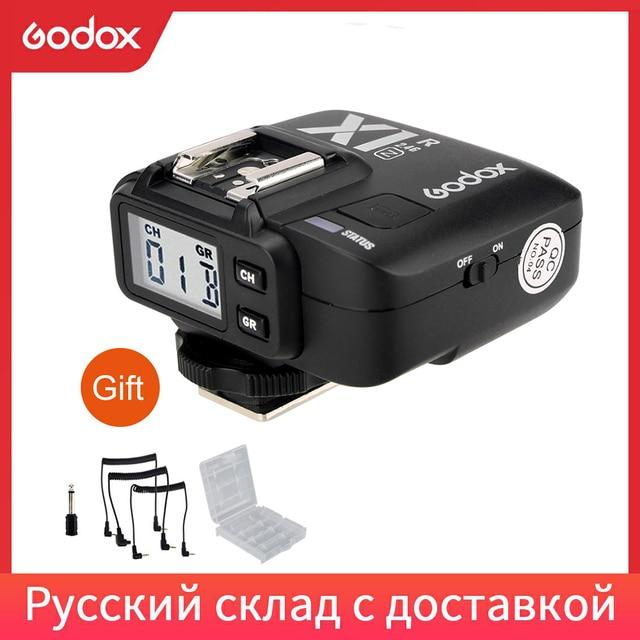 Godox X1R N 2.4 グラムワイヤレス受信機用 X1N フラッシュトリガートランスミッタニコン dlsr D800 D3X D3 D2X D2H D1H D1X D700 d300 D200 D100