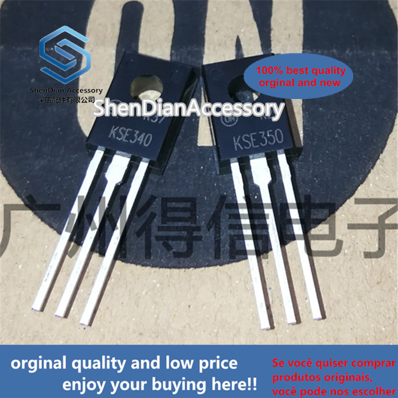 10pcs 100% New And Orginal KSE340 KSE350 340 350  TO-126F In Stock