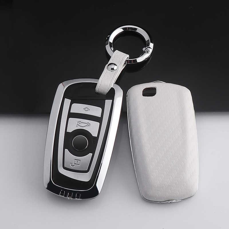 คาร์บอนไฟเบอร์คุณภาพสูง + สังกะสีอัลลอยด์ฝาครอบรถสำหรับ BMW X1 X3 X4 X5 X6 E90 E60 e36 E93 F15 F16 F48 G30F11F30 อุปกรณ์เสริม