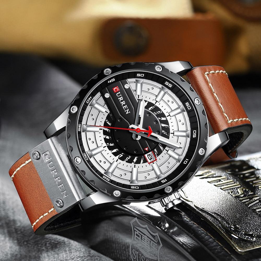 He831fadda38d475b992d27d4d8e1cc7aB CURREN Watch Wristwatch  New Chic Luminous hands