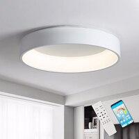 Ceiling LED Lights For Dining Room Kitchen Fixtures Ring Modern Black Bedroom Lighting Indoor Home Decoration Plafon Lamp Lustre