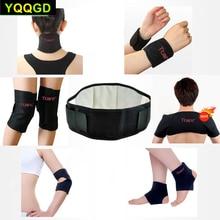 Купить с кэшбэком 11Pcs Tcare Self-heating Tourmaline Belt Magnetic Therapy Neck Shoulder Posture Correcter Knee Support Brace Massager Products