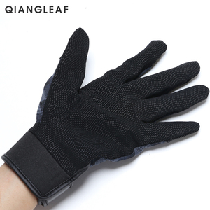 Image 3 - QIANGLEAF Tactical Pu Work Gloves Anti Slip Hunting Camping Cycling Camouflage Outdoor Sport Fishing Safety Cycling Glove 2500MC