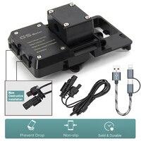 Navegador gps portátil para coche, Cargador usb de teléfono para motocicleta, compatible con África Twin CRF1000L ADV 800GS, para BMW R1200GS r1200 GS