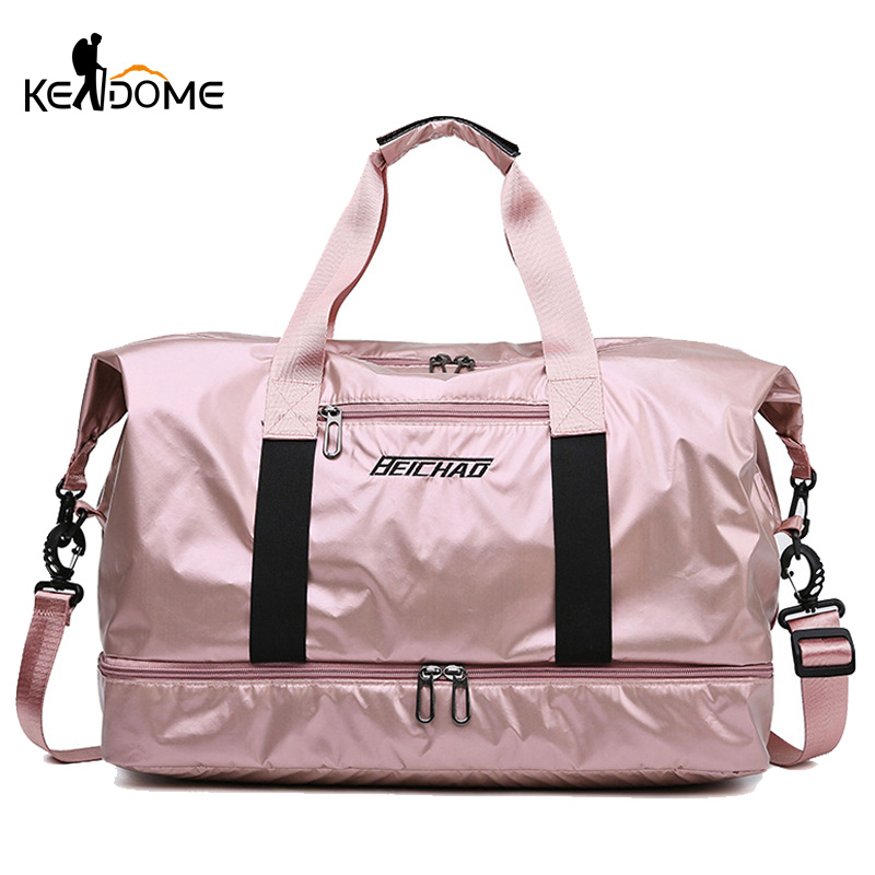 Gym Bag Women Fitness Training Handbag With Shoes Pocket Waterproof Sport Yoga Pack Travel Duffel Balso Sac De Sporttas XA109D