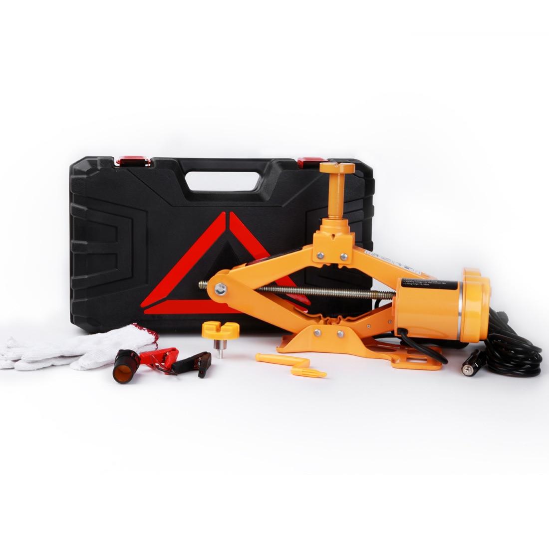 Cric de levage équipement monté sur voiture clé électrique outil outils d'entretien et de réparation Automobile vérin hydraulique électrique