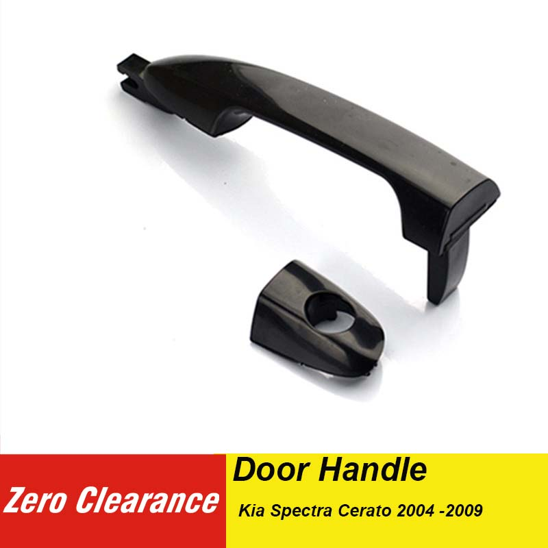 For 04-09 KIA SPECTRA Outer Front Right Passenger RH Side Door Handle Black