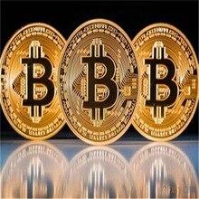 Фабрика продает прямые Биткоин/виртуальную валюту/памятные монеты, медальон, художественная коллекция, физическая Золотая памятная монета