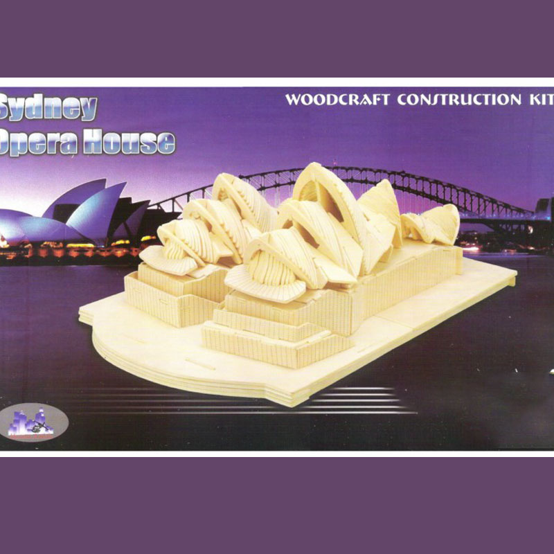 Sydney Opera House Building Vector Design Drawing Files For CNC Laser Cutting Files