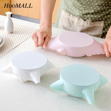 Vacuum-Container-Cover Storage-Lids Kitchen-Tool Silicone Wrap Food-Grade High-Stretch