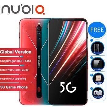 Купить Глобальная версия Nubia Red Magic 5G, игровой смартфон 12 Гб 256 ГБ/8 ГБ 128 ГБ 6,65 дюйма, Snapdragon 865, Redmagic, 5G