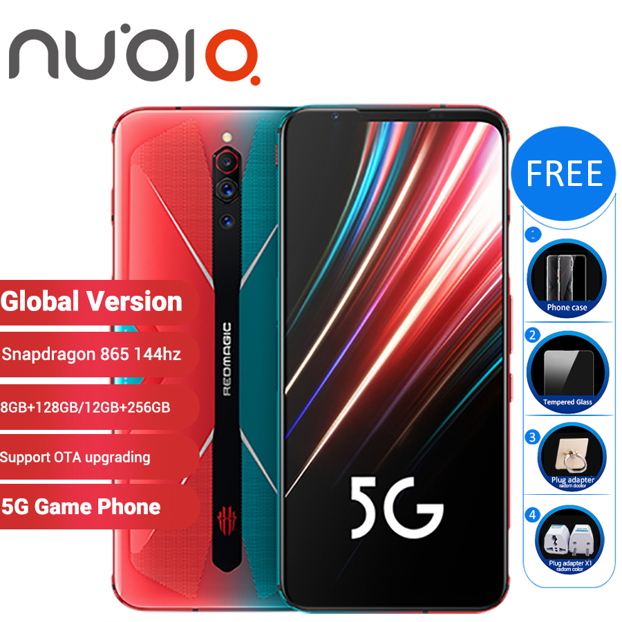 Global Version Nubia Red Magic 5G Gaming SmartPhone 12GB 256GB / 8GB 128GB 6.65