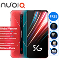 Globale Version Nubia Rot Magie 5G Gaming SmartPhone 12GB 256GB / 8GB 128GB 6.65 snapdragon 865 Redmagic 5G Spiel Mobible Telefon