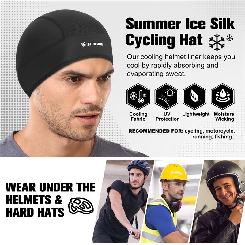 WEST BIKING Cycling Cap Summer Outdoor Sunscreen Helmet Hat for Men Women C#P5
