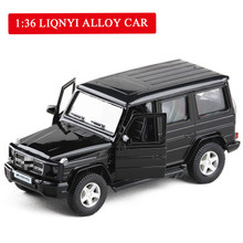 1:36 Off-road SUV Alloy Model Car Diecast Metal Toys Birthday Gift for Kids Boy Vehicle Toy Vehicle 1 43 a3 sportback suv high end metal model car diecast vehicle parts van several colors