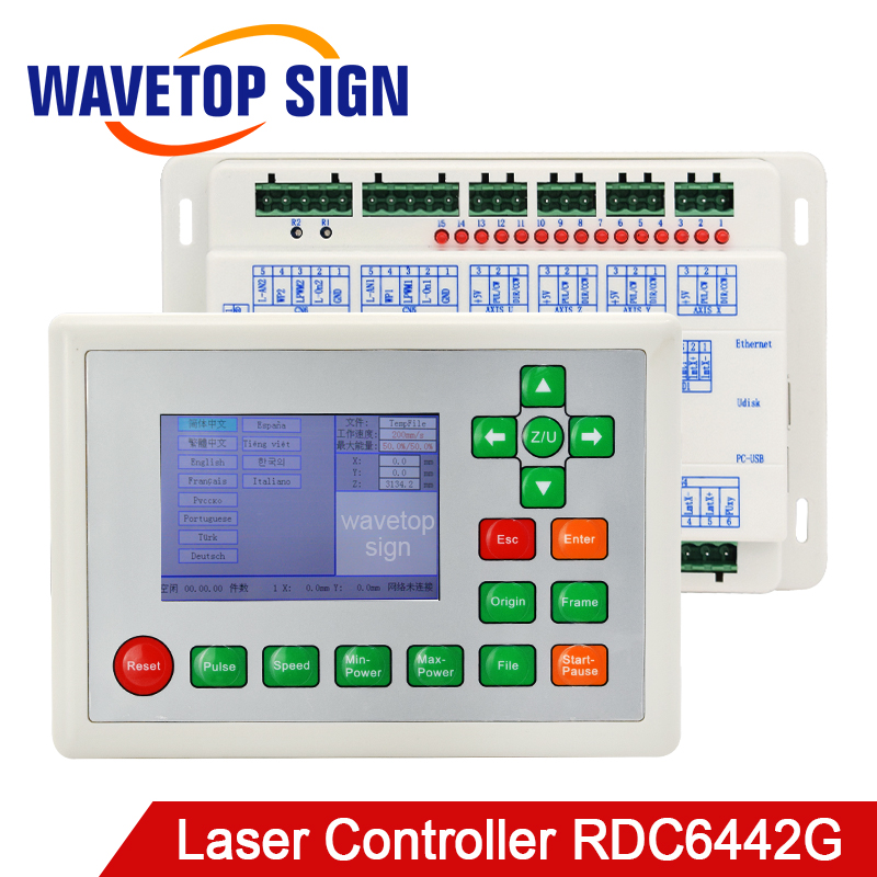 Ruida RDC6442G Co2 Laser DSP Controller Use For Co2 Laser Engraving And Cutting Machine