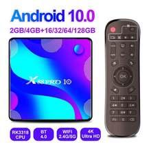 X88pro smart tv box android 10 ultra hd 4k медиаплеер Поддержка