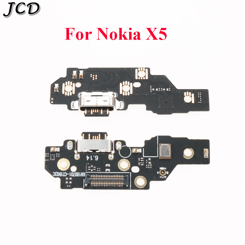 JCD For Nokia 5.1 Plus Micro USB Charger Flex Cable/ Micro USB Charging Port Board For Nokia X5
