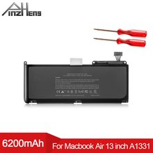 цена на PINZHENG Laptop Battery For Apple MacBook Air 13 Inch A1331 A1342 Unibody MC207LL/A MC516LL/A 2009 2010 Replacement With Tools