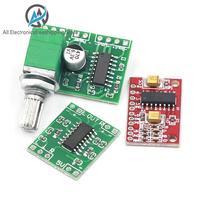 1pcs/lot PAM8403 Super mini digital amplifier board 2 * 3W Class D digital amplifier board efficient 2.5 to 5V USB power supply
