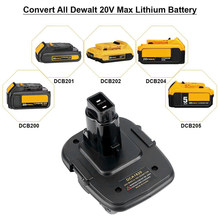 20V Battery Adapter DCA1820 Can Be Converted Into 18V Nickel for Dewalt 18V 20V Lithium Battery Replace Old 18V Battery DC9096(China)