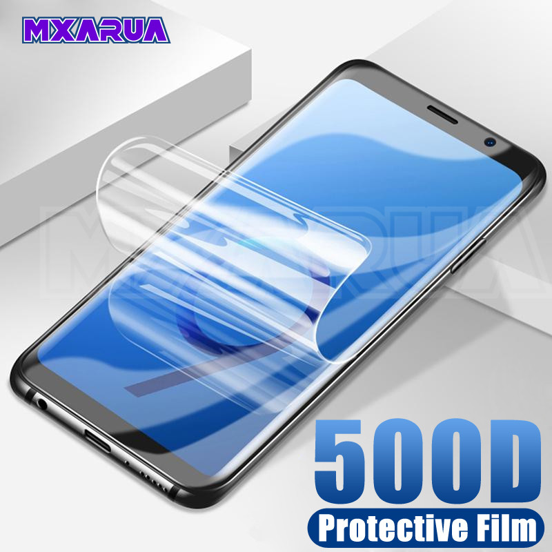 500D Protective Film On For Samsung Galaxy S10 S9 S8 Plus S10e Screen Protector For Samsung S7 Edge A6 A8 Plus 2018 Soft Film