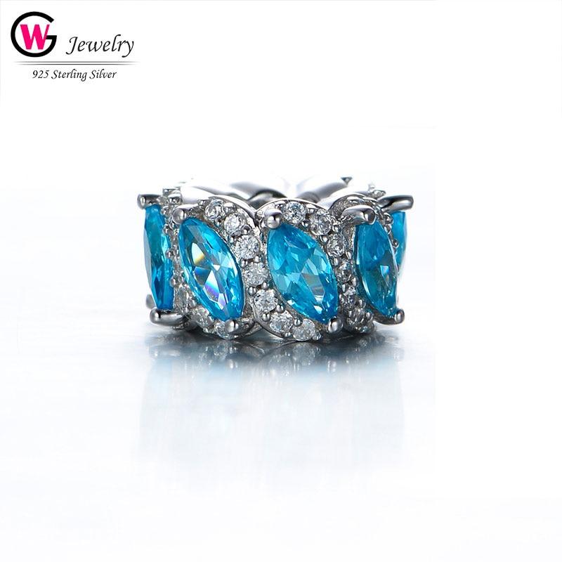 2019 bleu ciel perles breloque nouveaux pendentifs brillants pour Pandora Bracelet breloque collier bricolage femmes bijoux amour cadeau perles Femininas