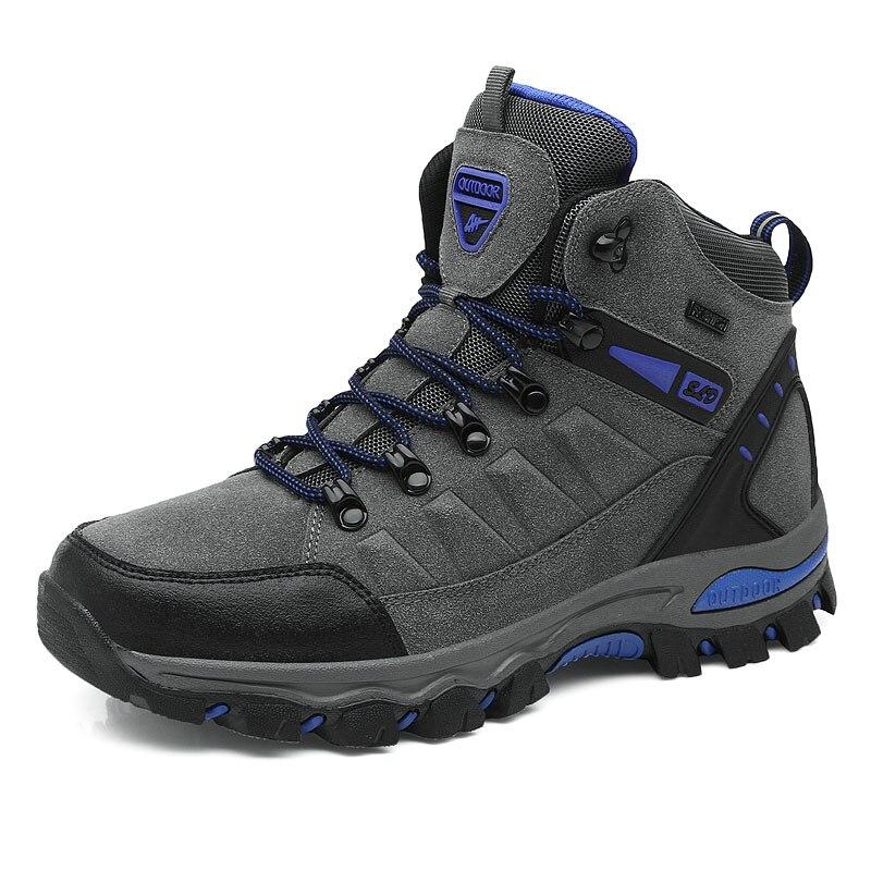 2019 Hot Sale Winter Boots Men Shoes Waterproof  Outdoor Snow Boots Fur Warm Casual Men Shoes Non Slip  New Fashion Big Size