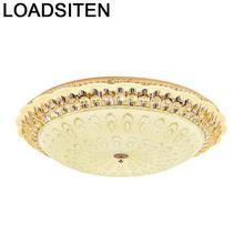 Decor Lighting Candeeiro Deckenleuchte Plafoniera Lamp Luminaria Teto Plafondlamp Crystal Lampara De Techo Led Ceiling Light