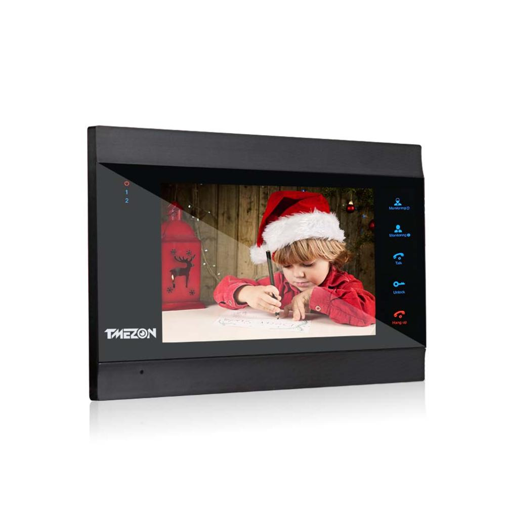 Tmezon Wifi Video Door Phone System Single 7 Inch  TFT Indoor Monitor ,support Remote Unlock,watch Real Time Video