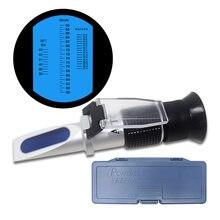 Honig Refraktometer 58-90% Brix für Imker Honig Hand Gehalten Zucker Baume Wasser 12-27% 38-43Be