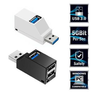 Mini 3 Ports USB 3.0 Splitter