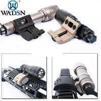 WADSN Airsoft Picatinny Rail Flashlight Mount for Surefir M600C M600 M300A M300 Weapon Scout Light