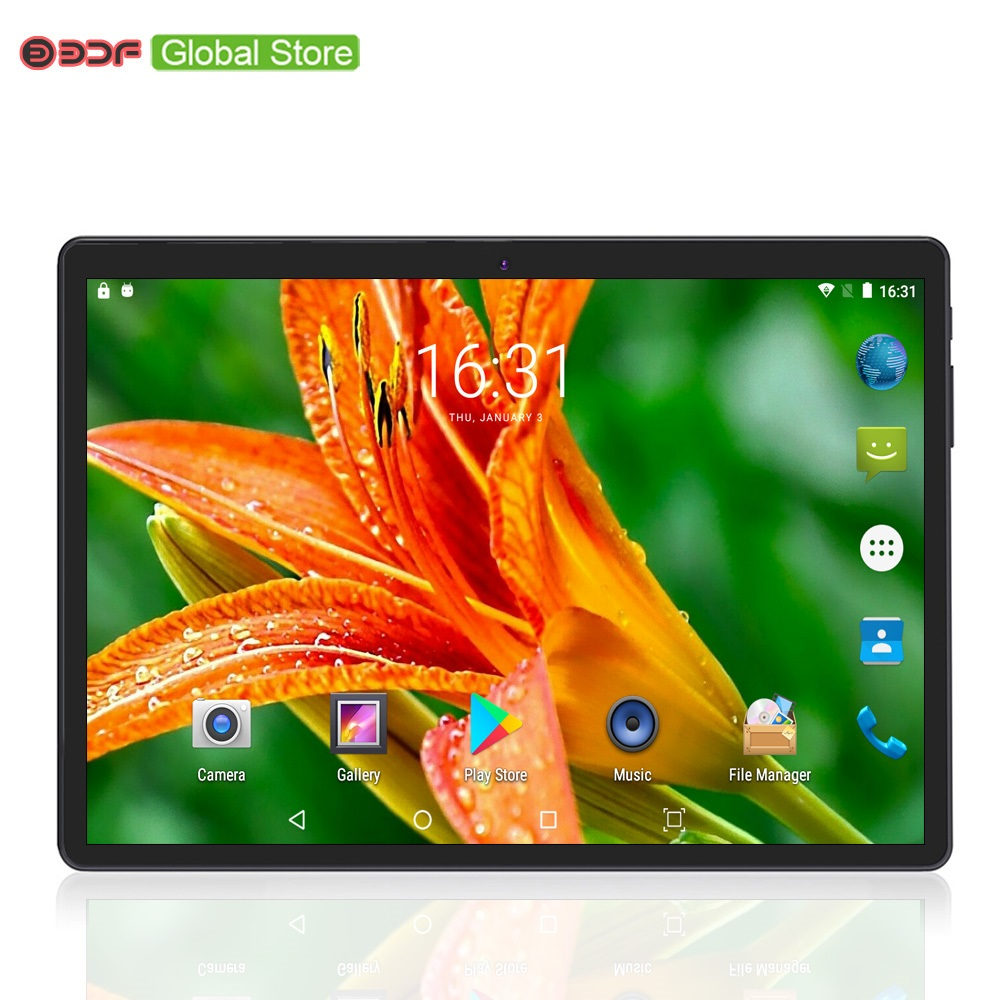 2019 Best-seller 10 pouces 4G LTE téléphone appel tablette Pc Android 7.0 Octa Core 4GB + 64GB CE marque double carte SIM 10.1 tablettes WiFi