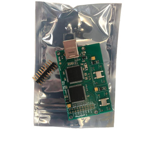 Image 2 - ترقية كريستال إيطاليا Amanero USB IIS واجهة رقمية تدعم DSD512 32 بت/384 كيلو هرتز ل AK4497 ES9038 DAC المجلس