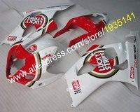 Body Kit For Suzuki GSX R1000 2003 2004 K3 GSXR 1000 03 04 GSXR1000 Red White Aftermarket Fairing (Injection molding)