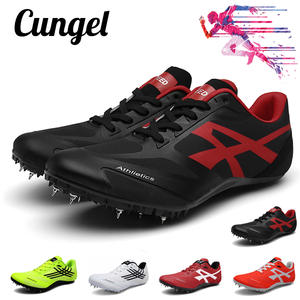 Field-Shoes Sneakers Track Sport-Spikes Athletic Outdoor Unisex And Men Training Race-Run
