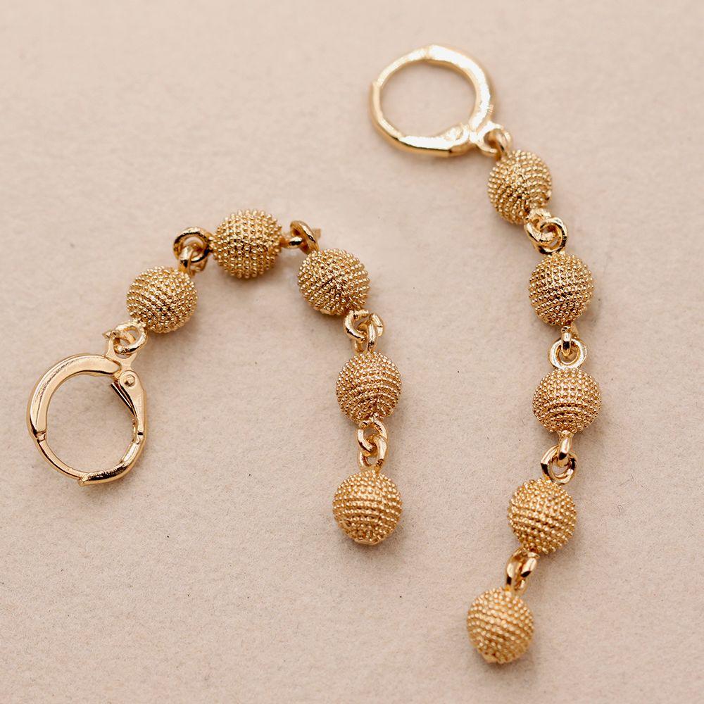 Bohemia Drop Earrings for Women's earrings Long Chain Earrings With Gold Filled earrings Luxury Jewelry for Wedding Party Gift