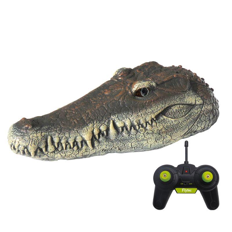 V005 2.4G 4CH Simulation Crocodile Head RC Boat Water Racing Remote Control Toys new