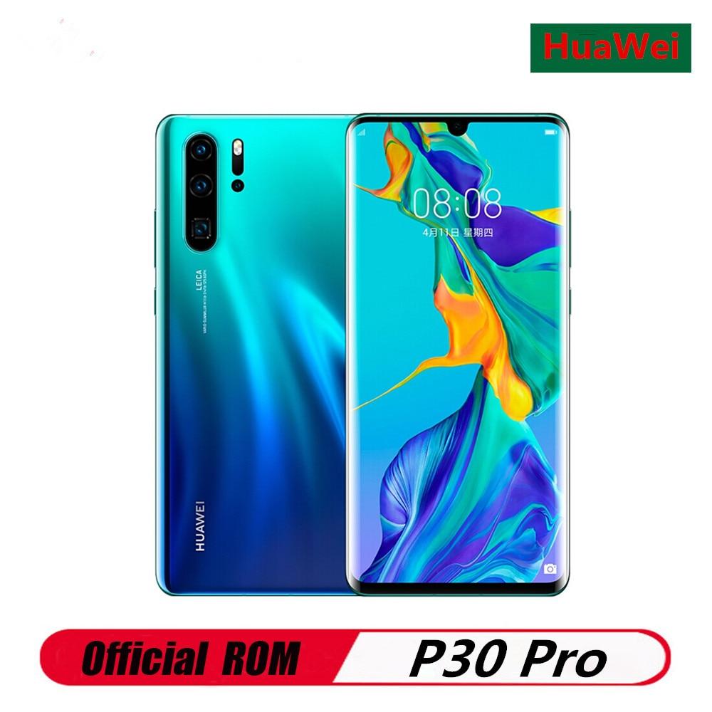"International Version HuaWei P30 Pro VOG L29 Cell Phone Kirin 980 Android 9.1 6.47"" 2340X1080 8GB RAM 128GB ROM 40.0MP NFC QI|Cellphones| - AliExpress"