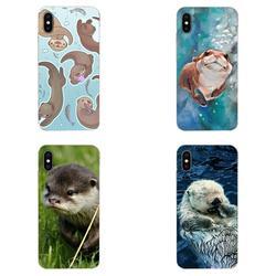 На Алиэкспресс купить чехол для смартфона tpu luxury animal cute baby otter pattern for xiaomi redmi note 8 8a 8t 10 k30 5g for motorola moto g g2 g3 g4 g5 g6 g7 plus