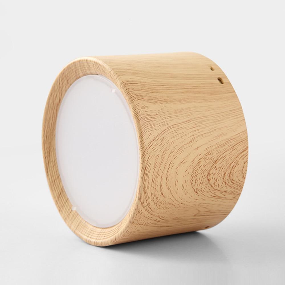 Moderne decke lampe 5W 12W Holz Decke lichter Oberfläche Montiert led licht lampe für Küche Wohnzimmer licht leuchten