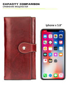 Image 5 - WESTAL wallet women genuine leather womens wallet/purses clutch female wallets for crad coin leather ladies clucth bag for girl
