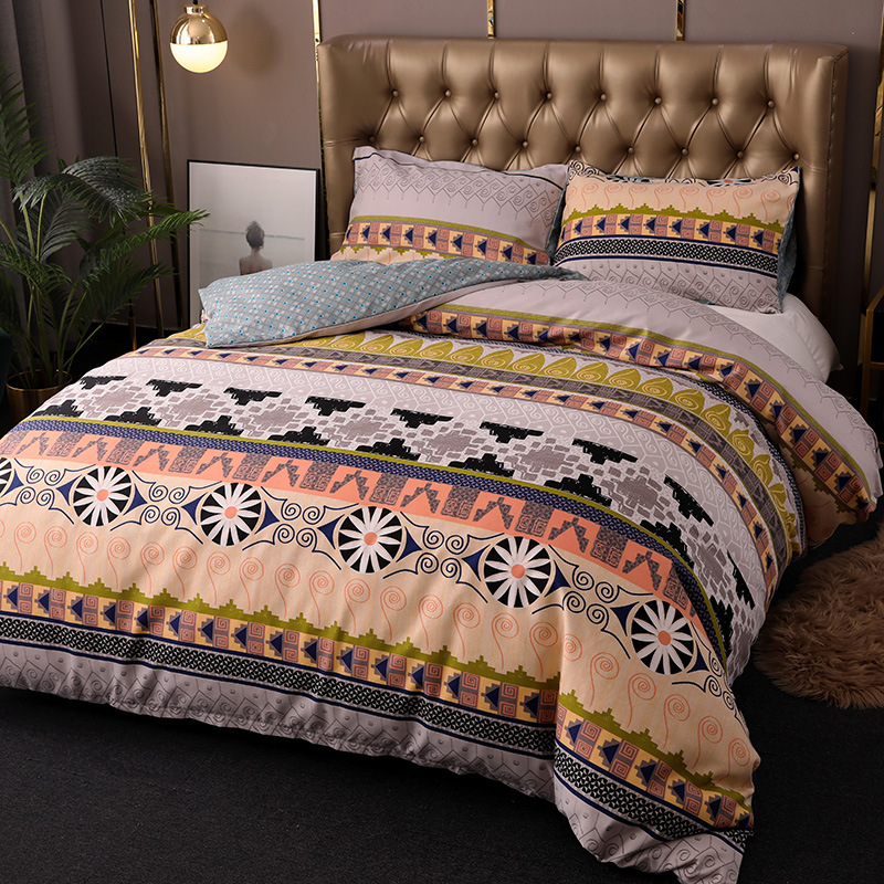 Textile For Bedding Kit Bohemian Ethnic-Style  Hot Selling Three-piece Set