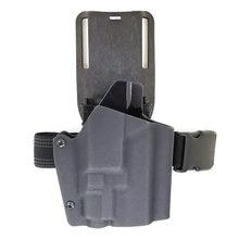 Coldre tático para série glock, vp9, ppq, fns9 coldre adaptador de pouso saistrap ternos (pode instalar lâmpada de tlr-7)