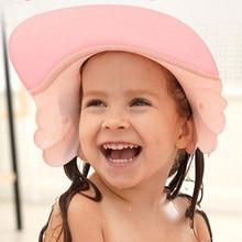 Bebê shampoo boné bonito asa animal bebê shampoo chapéus da criança lavagem escudo do cabelo crianças viseira direta touca de banho touca de banho cuidados com o bebê