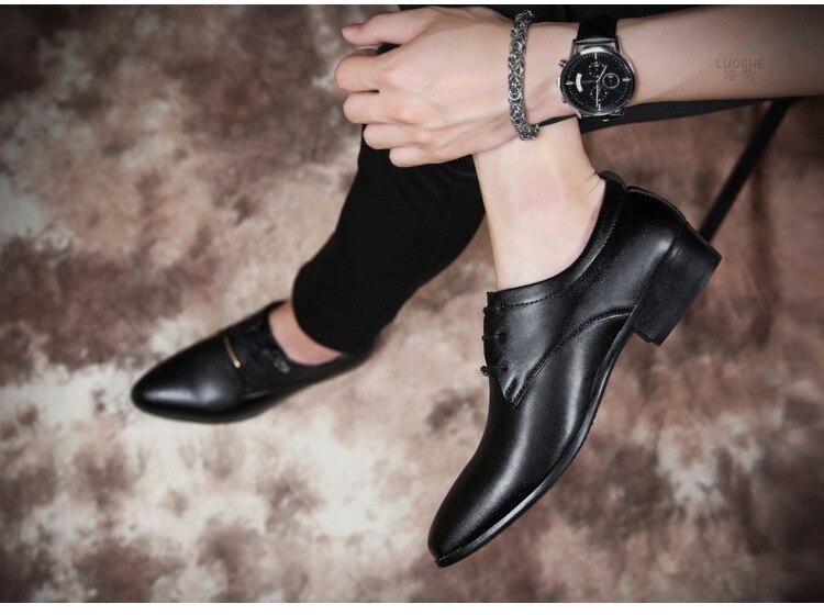 sapatos de festa dos homens marca elegante